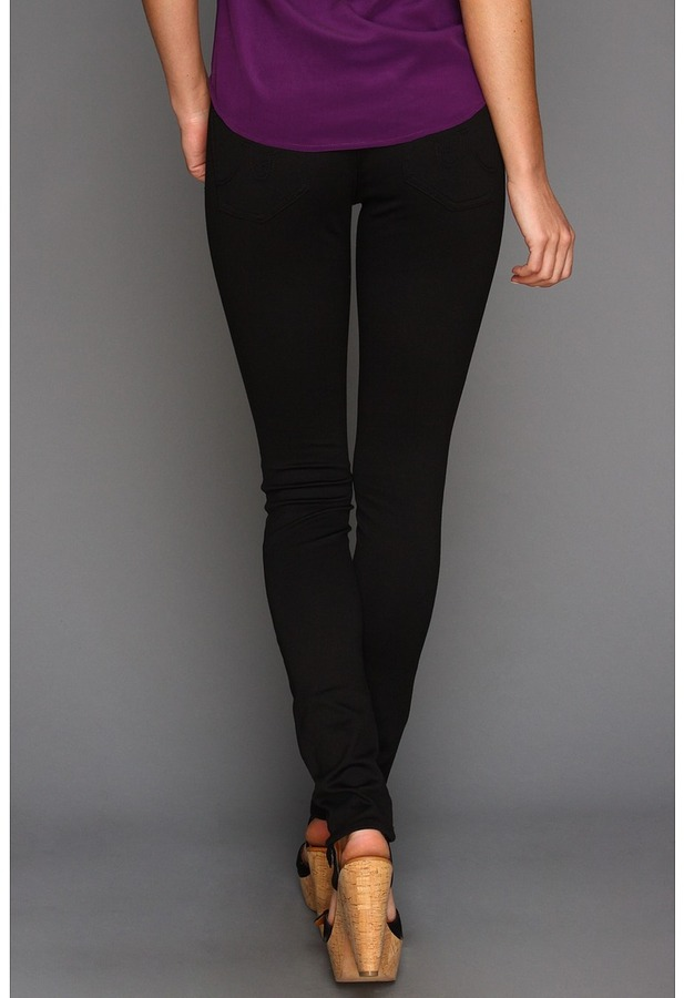 AG Adriano Goldschmied NPT Super Skinny Fit in Black (Black) - Apparel