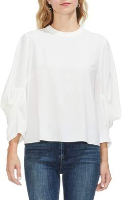 Vince Camuto Tuck-sleeve Top