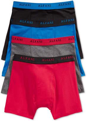 Alfani Men's 4 Pack. Cotton Boxer Briefs