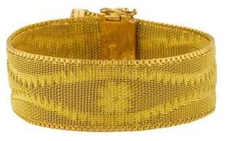 18K Fringe Woven Bracelet