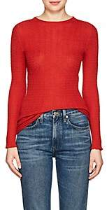 Philosophy di Lorenzo Serafini Women's Cable-Knit Wool-Blend Sweater - Red