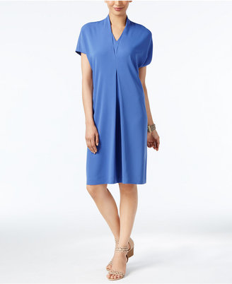 Alfani Pleated Shift Dress, Only at Macy's $99.50 thestylecure.com