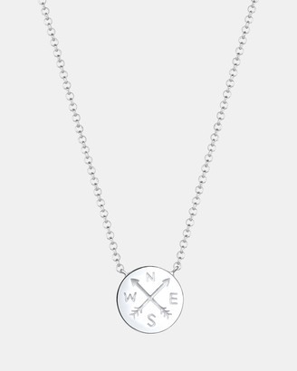 Wanderlust Necklace Pendants Arrow Compass Talisman Travel 925 Sterling Silver