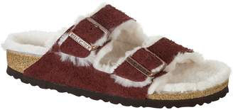 Birkenstock Arizona Shearling Lined Narrow Sandal - Women's