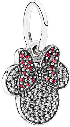 Pandora Disney Jewelry Collection Silver Sparkling Minnie Icon Charm