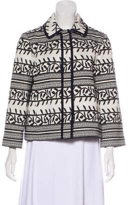 Tory Burch Laurie Printed Jacket