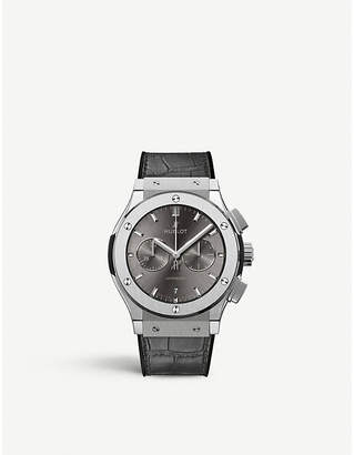Hublot 541.NX.7070.LR Classic Fusion Racing Grey Chronograph titanium watch
