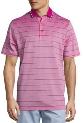 C&C California COLLECTION Skinny Stripe Pique Polo