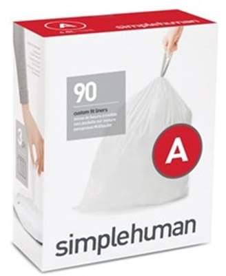 Simplehuman Code A Custom Fit Bin Liners 3 x 30 Pack CW0250
