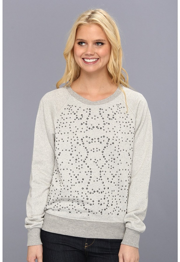 C&C California L/S Embellished Sweatshirt Women's Sweatshirt
