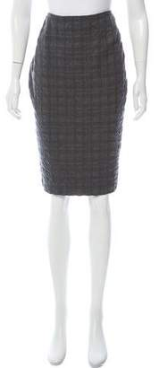Dolce & Gabbana Plaid Knee-Length Skirt