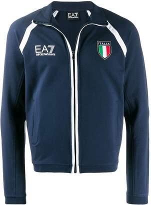 Ea7 Logo track jacket