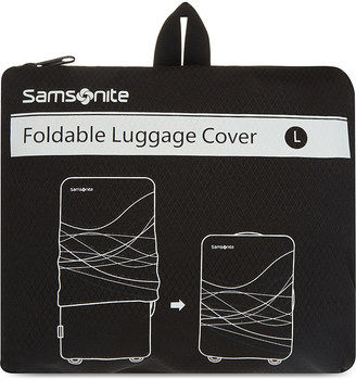 SAMSONITE Foldable luggage cover large $30.50 thestylecure.com