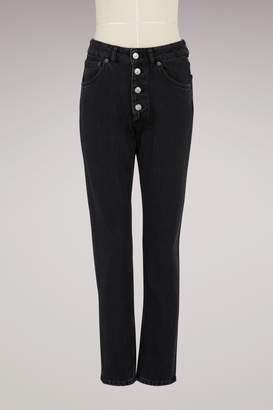 Balenciaga Tube high-waisted jeans