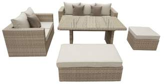 Pangea Home Oasis 5-Piece Sofa Dining Set