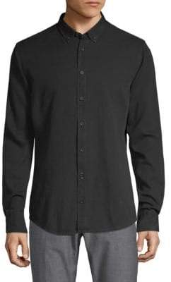 HUGO BOSS Edipoe Button-Collar Shirt