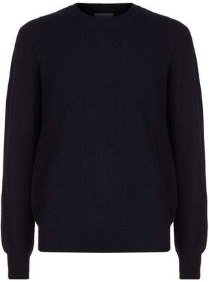 Corneliani Cashmere Cable Knit Sweater