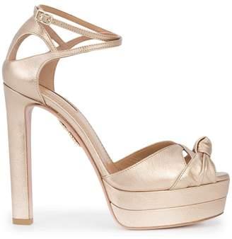Aquazzura Harlow chunky heel pumps