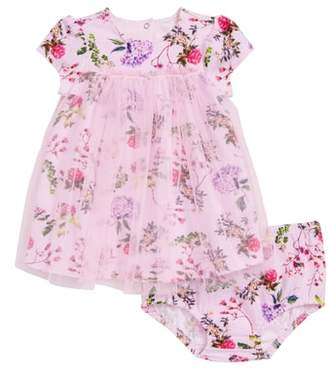 Offspring Botanical Blooms Tulle Dress