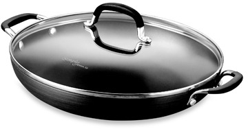 Calphalon Simply Nonstick 12-Inch Everyday Pan with Cover