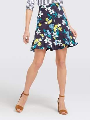 Draper James Elliston Floral Skirt