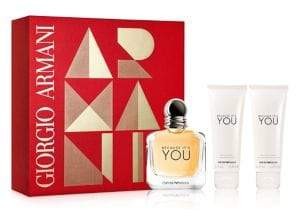 Giorgio Armani Three-Piece Because It's You Eau de Parfum Prestige Set