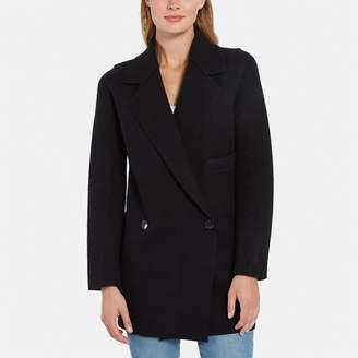 Line Ingrid Boiled Wool Coat