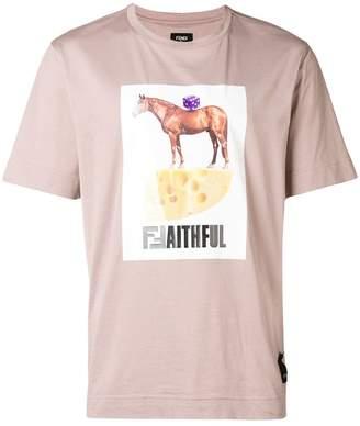 Fendi Faithful T-shirt