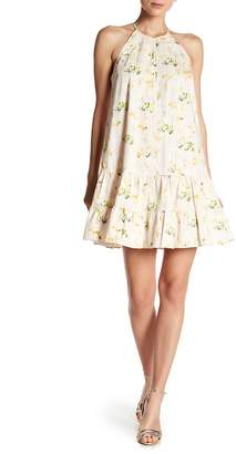 Rebecca Taylor Sleeveless Firefly Floral Print Tank Dress