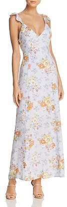 Sadie & Sage Floral-Print Crisscross Back Maxi Dress - 100% Exclusive