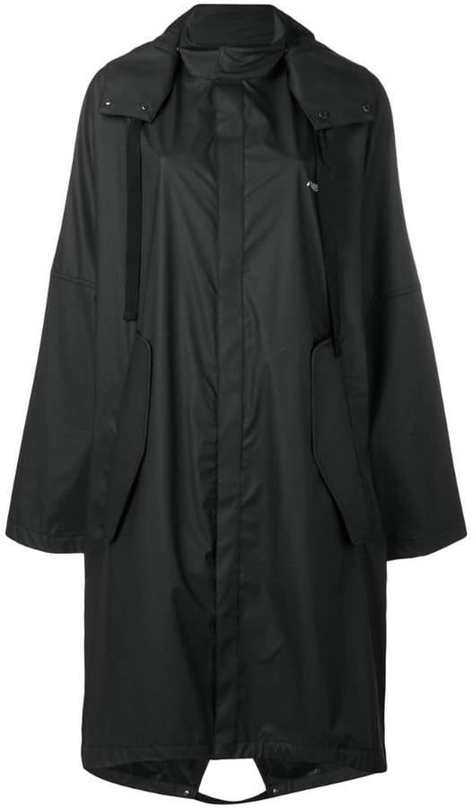 Ambush hooded raincoat