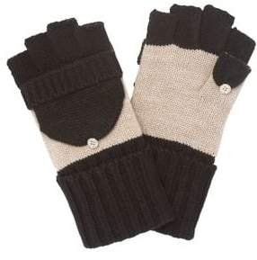 Calvin Klein Colorblock Flip Top Glove
