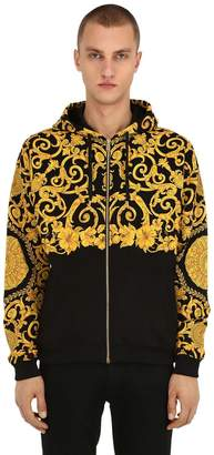 Versace Gold Hibiscus Heritage Sweatshirt Hoodie