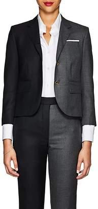 Thom Browne Women's Classic Two-Tone Wool Three-Button Blazer