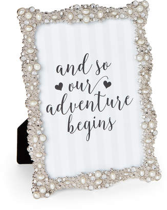 """Enchante 5""""x7"""" Jeweled Picture Frame"""