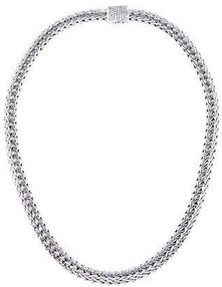 John Hardy Diamond Classic Chain Necklace