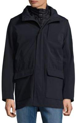 Brooks Brothers Red Fleece 3-in-1 Parka and Vest