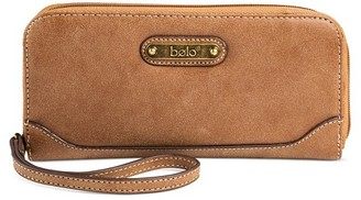 Bolo Women's Faux Leather Wristlet Wallet Handbag with Snap Closure - Brown $17.99 thestylecure.com