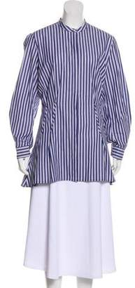 Anine Bing Long Sleeve Button-Up