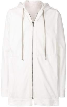 Rick Owens Long Sleeve Drawstring hoodie