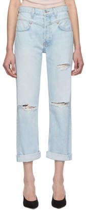RE/DONE Blue Originals 90s Double Yoke Jeans