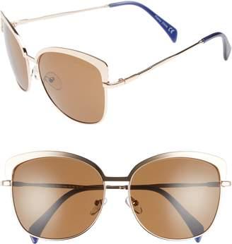 Draper James 60mm Cat Eye Sunglasses