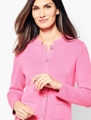 Talbots Button-Front Sweater Jacket