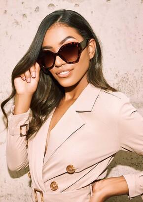 499c36b8ca Missy Empire Missyempire Monique Tortoise Shell Sunglasses