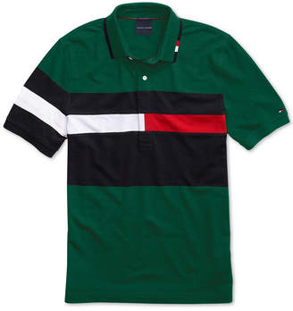 Tommy Hilfiger Adaptive Men Rich Polo Shirt with Magnetic Buttons