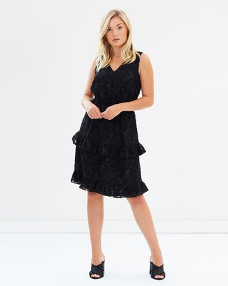 Atmos & Here ICONIC EXCLUSIVE - Amber Ruffle Dress