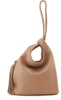 Hobo Blossom Leather Shoulder Bag