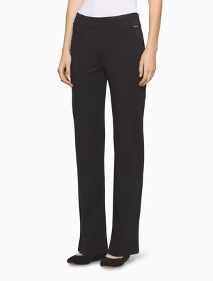 Calvin Klein power stretch seamed leggings