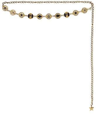 Gucci Men's Glitter Icon Chain Belt