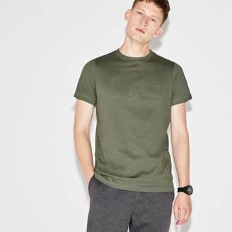 Lacoste Men's SPORT Tennis Oversize Croc Technical Jersey T-shirt